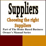 Suppliers Front Cover